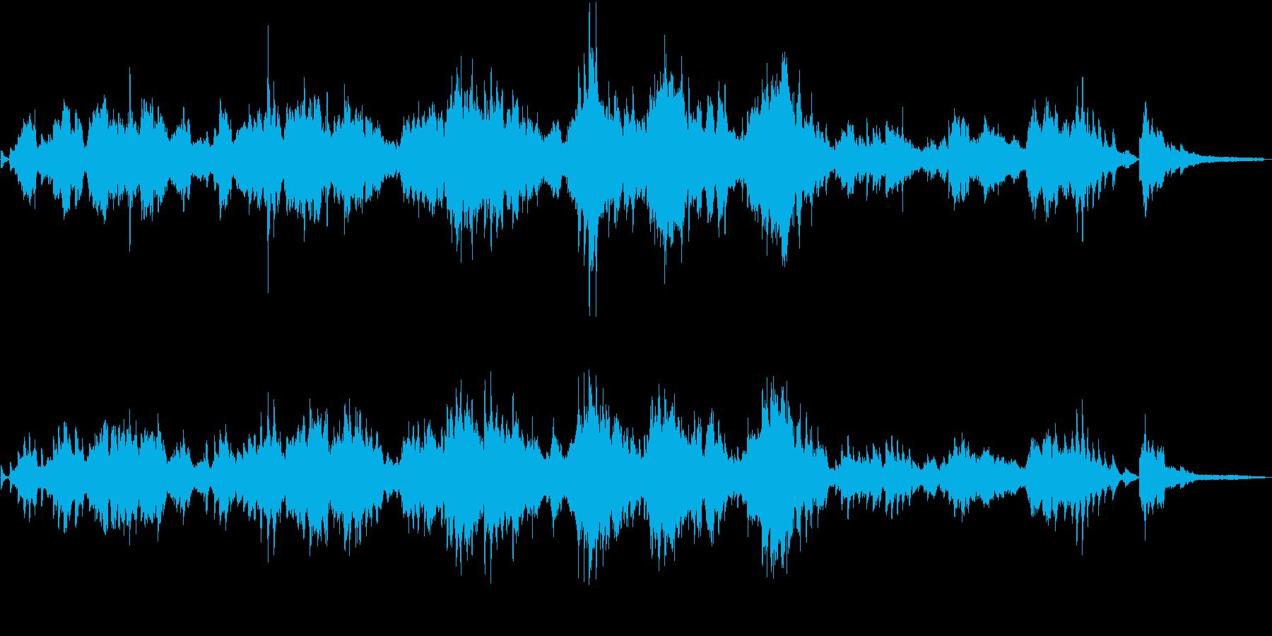 ショパン:エオリアン・ハープの再生済みの波形
