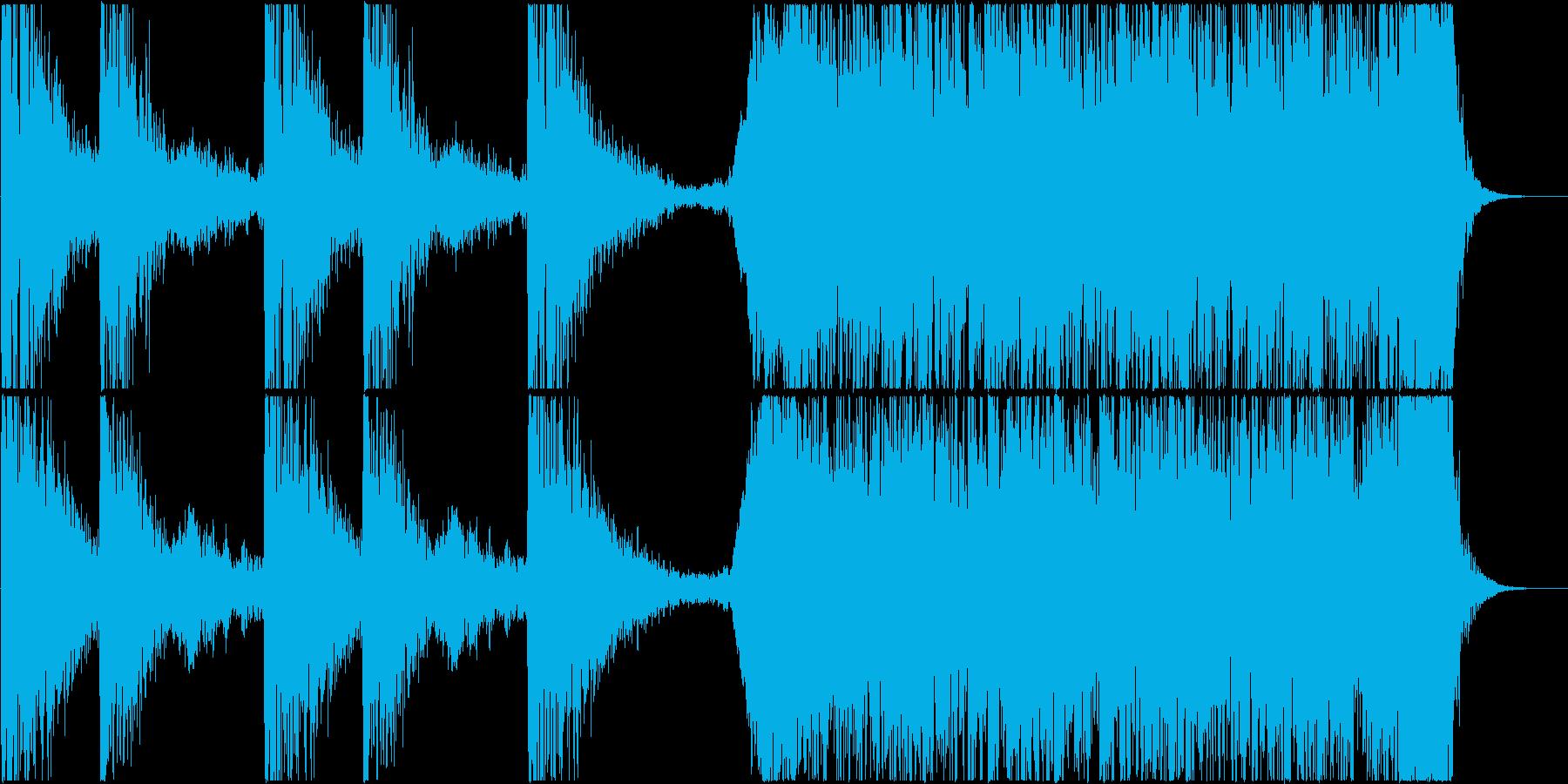 トレーラー(恐怖系)の再生済みの波形