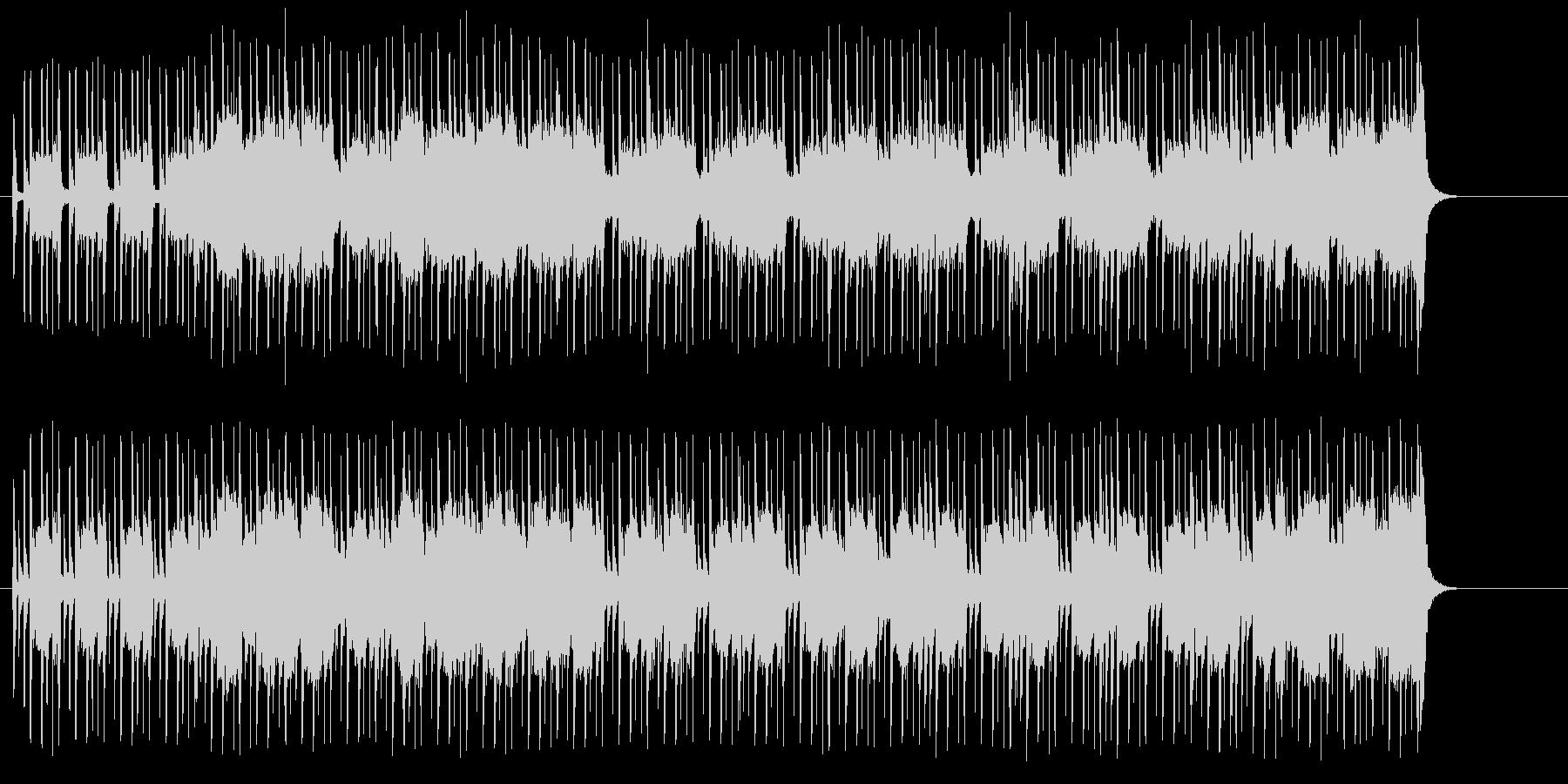 クイズ、情報番組向けのポップスの未再生の波形