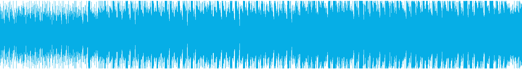 キュートな高速Dnb風ポップ ループ仕様の再生済みの波形