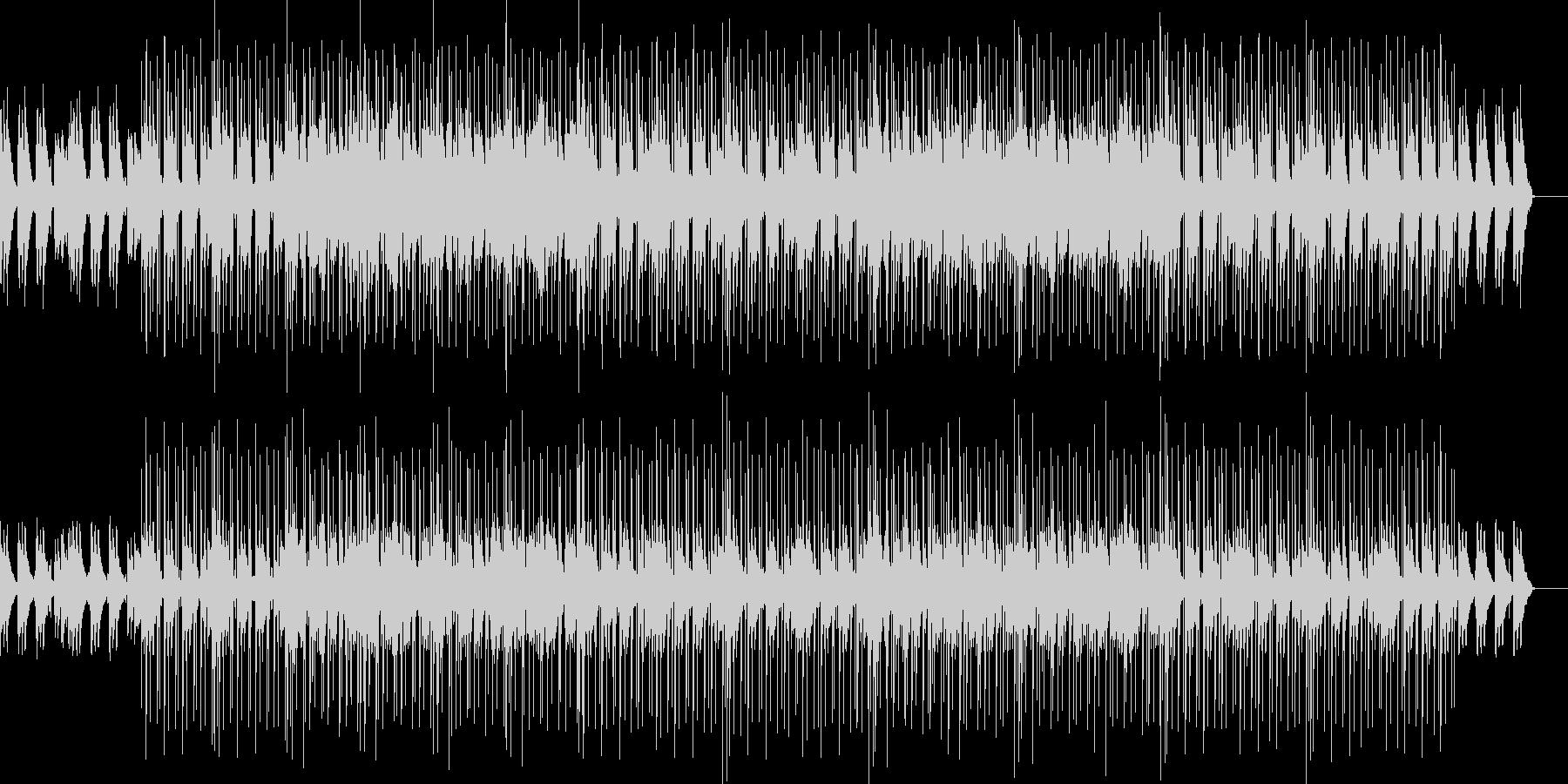 ピアノ、ジャジーHIPHOPに少しニカの未再生の波形