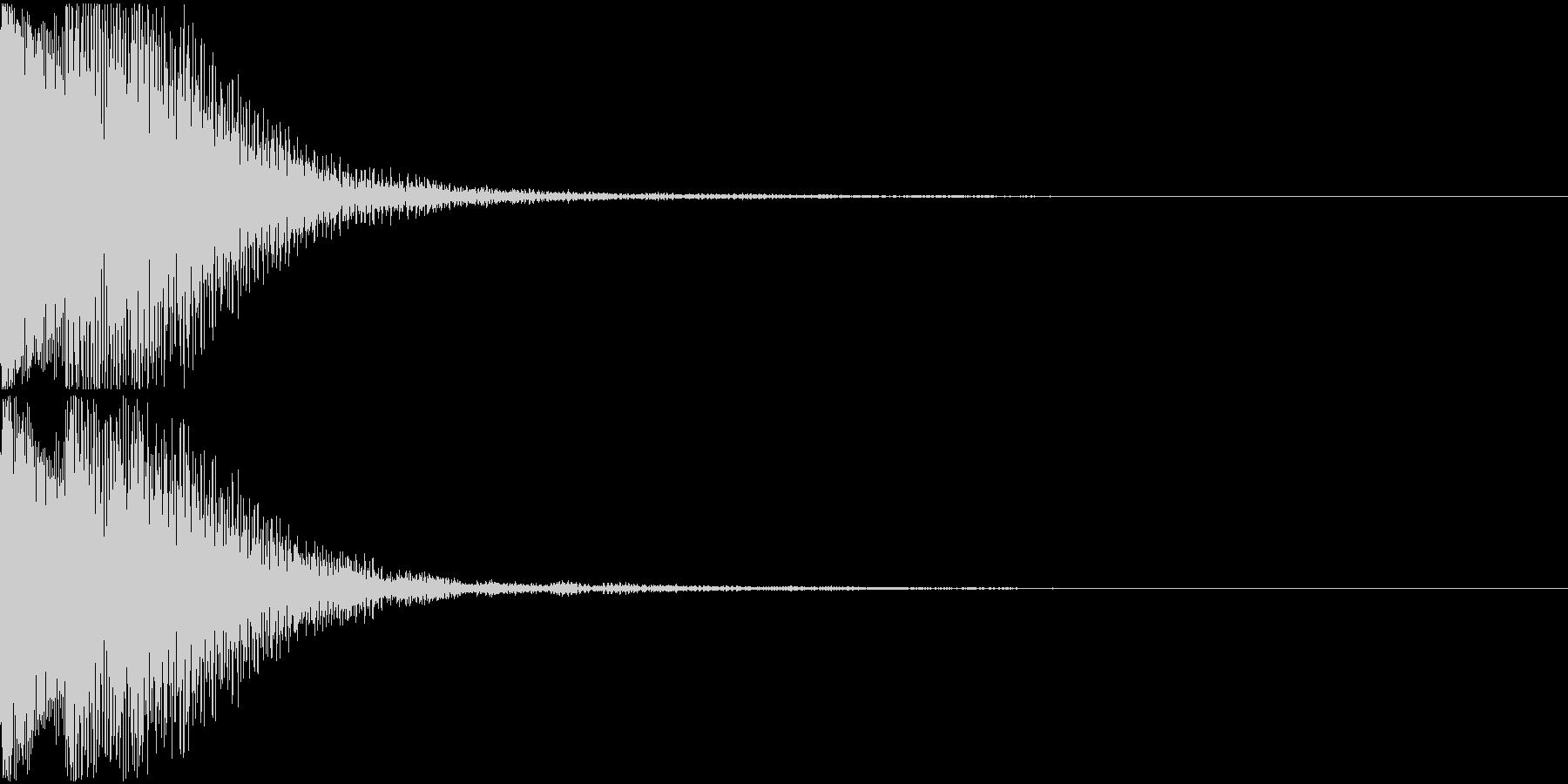 キャンセル音02(テロリッ)の未再生の波形