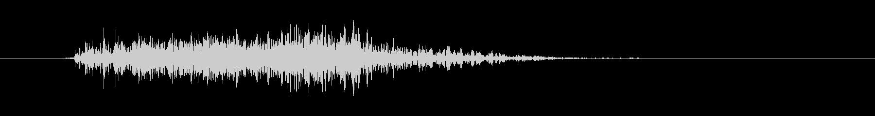 ワープ/テレポートの未再生の波形