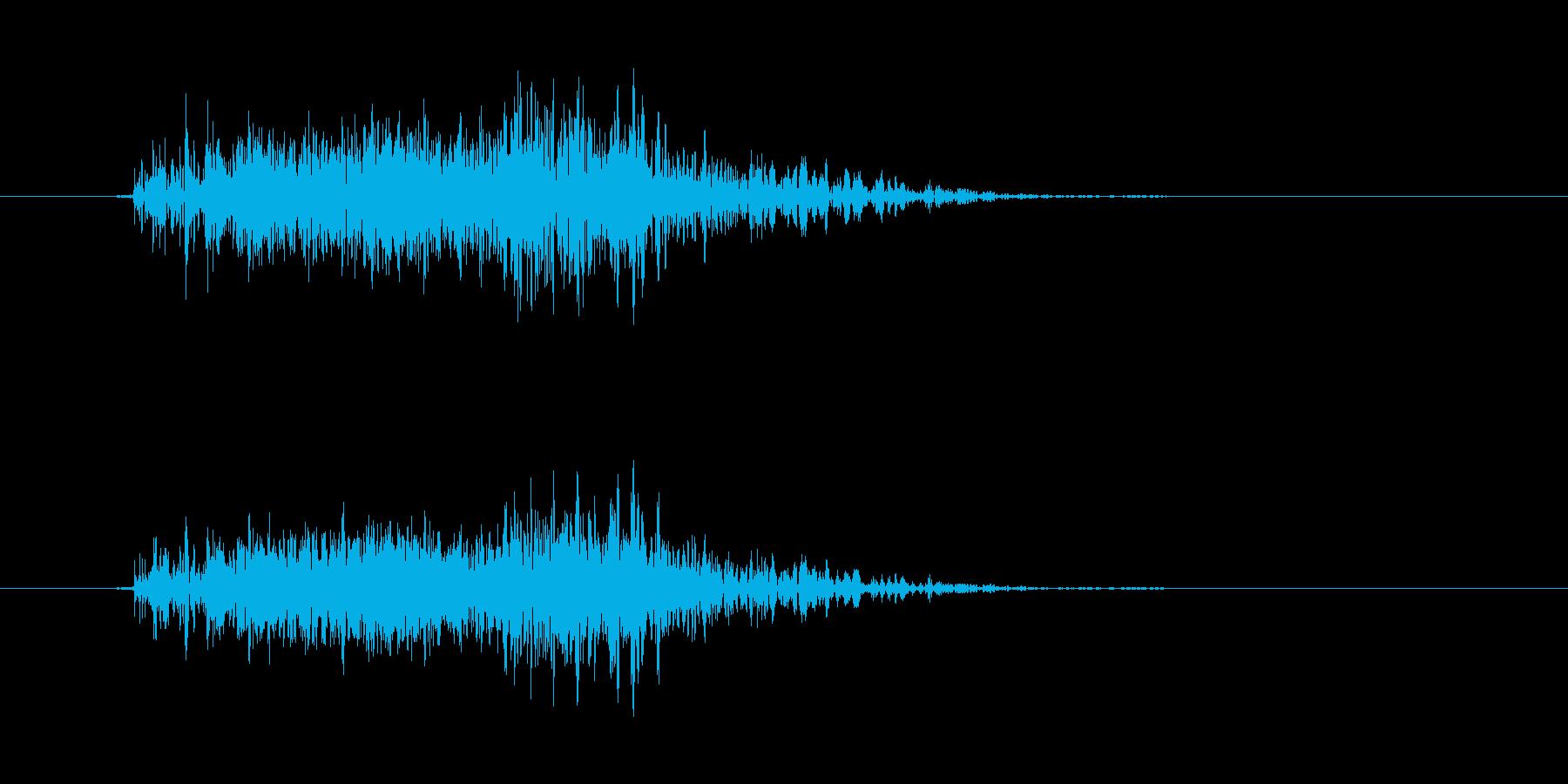 ワープ/テレポートの再生済みの波形