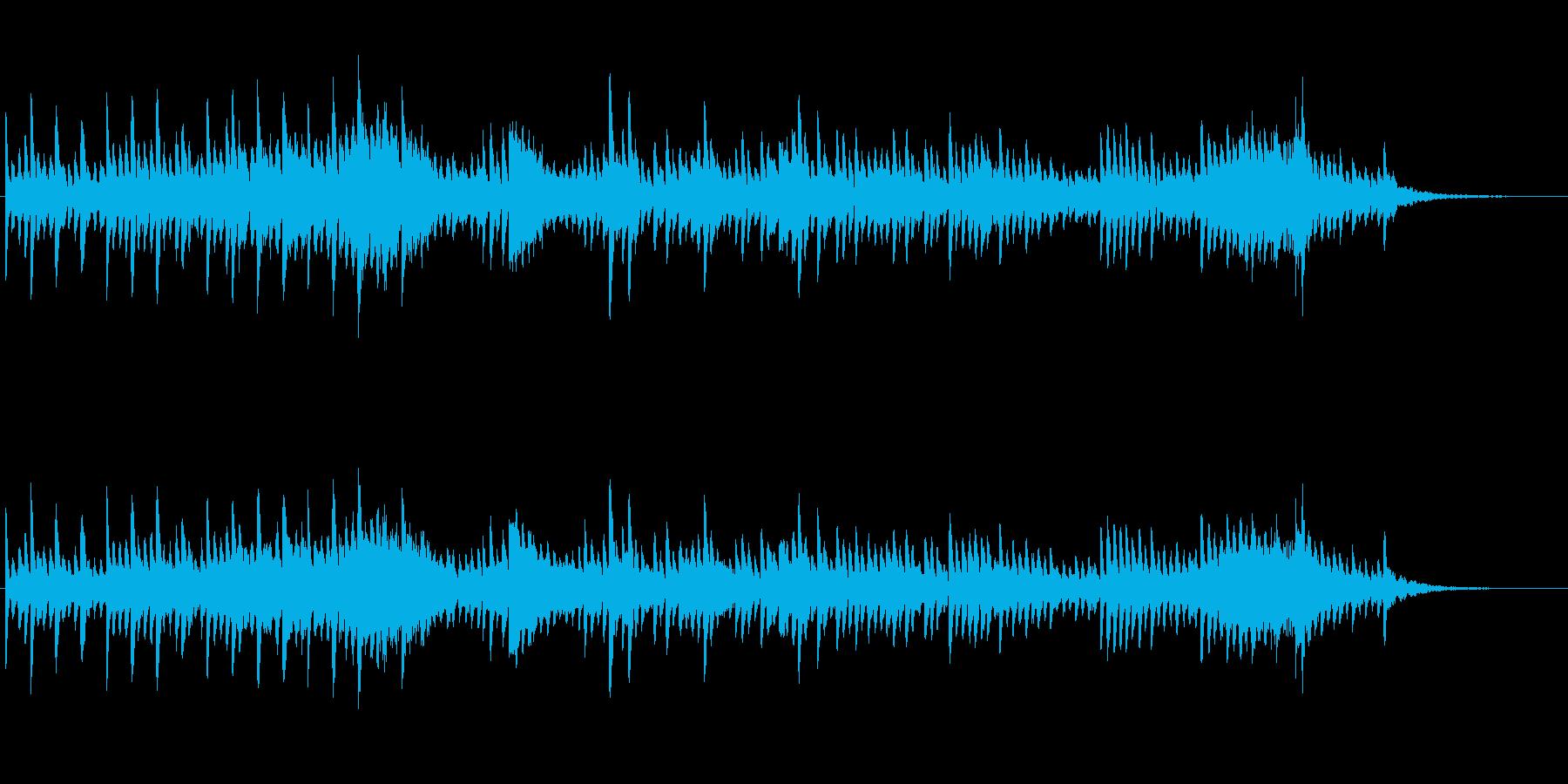 マリンバが印象的な不思議系ジングルの再生済みの波形