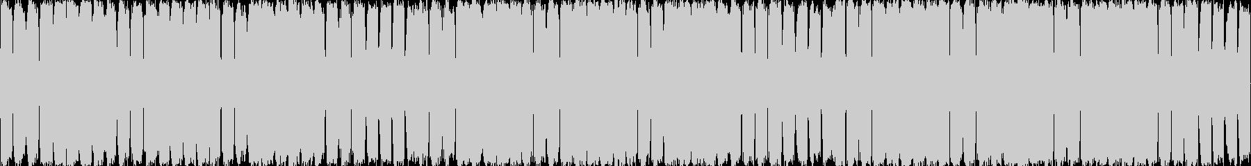 かっこいいサウンドのEDMの未再生の波形
