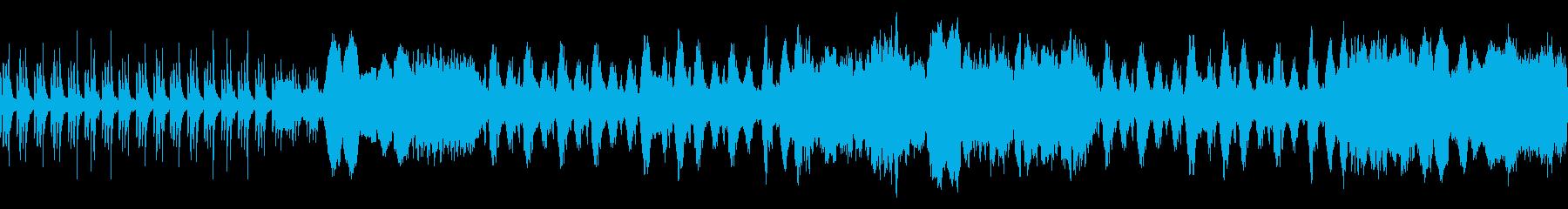 映像 ナレーションRPG 上品 ループの再生済みの波形