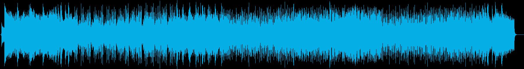 壮大で軽快なピアノストリングスポップの再生済みの波形