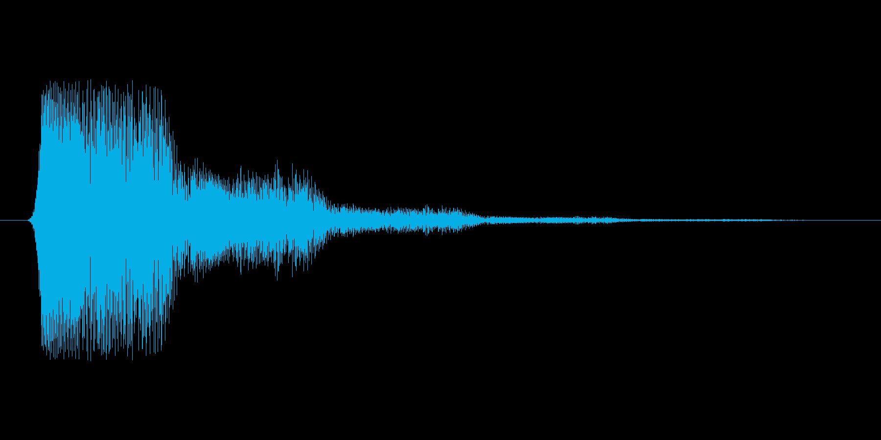 ファミコン風効果音 キャンセル系 08の再生済みの波形