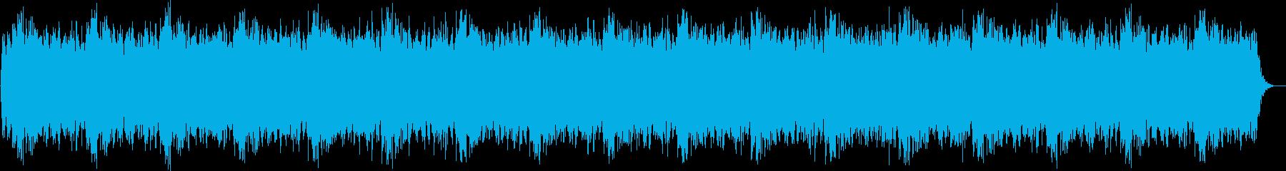 ダークなエクスペリメンタルミュージックの再生済みの波形