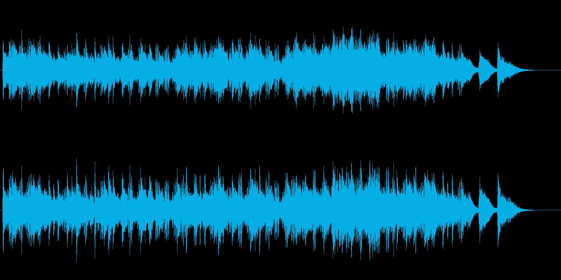 甘い雰囲気漂うムーディーなジャズの再生済みの波形