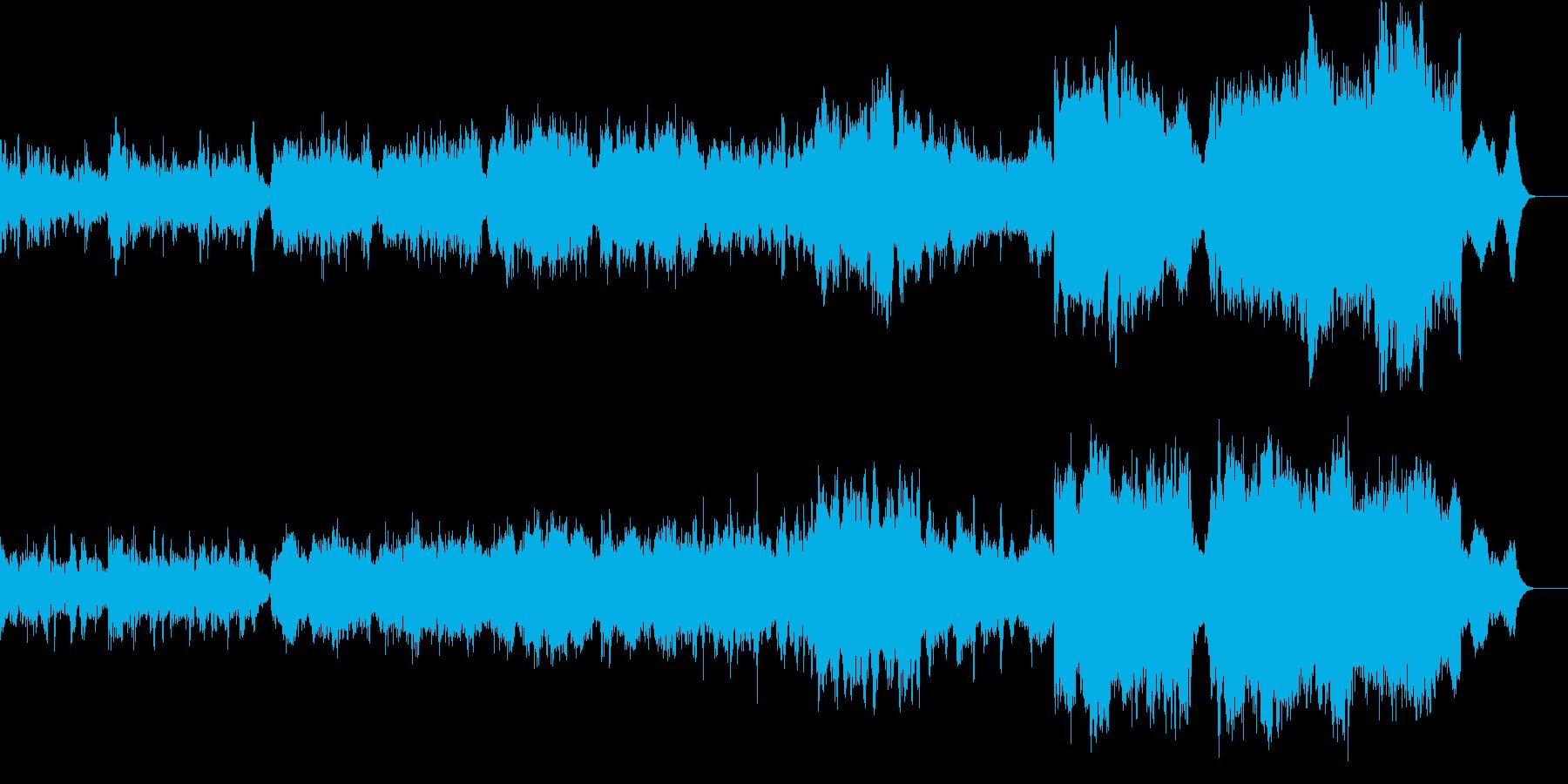 ショートストーリー/オーケストレーションの再生済みの波形