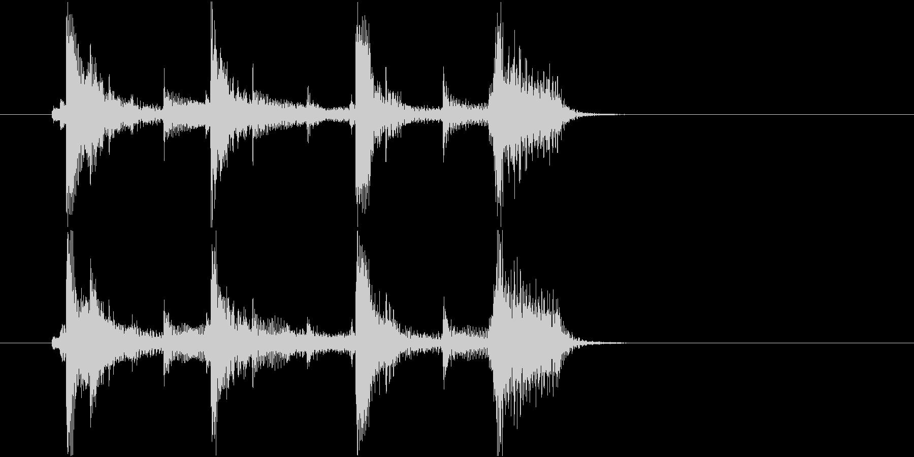 生音 三味線 ショートフレーズ2の未再生の波形