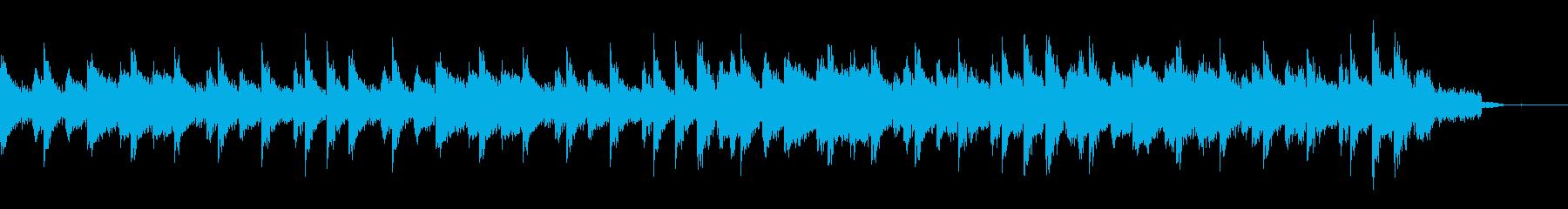 都会的場面の序章ジングル(少し長め)の再生済みの波形
