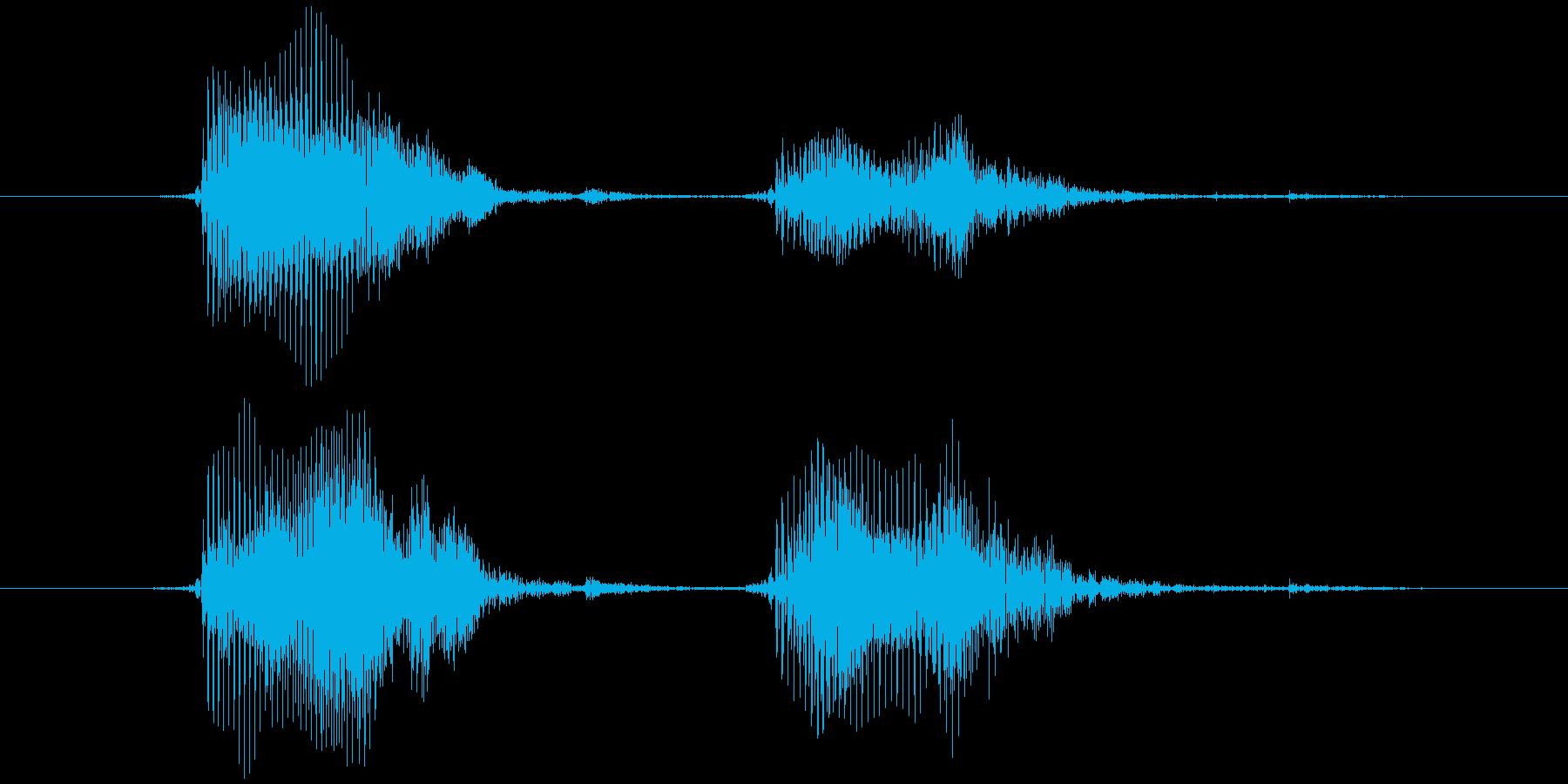 スマイルハンマー ピヨッ(軽め)の再生済みの波形