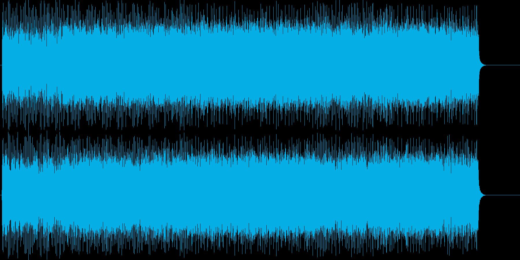スリルとスピード感溢れるヘヴィ・メタルの再生済みの波形