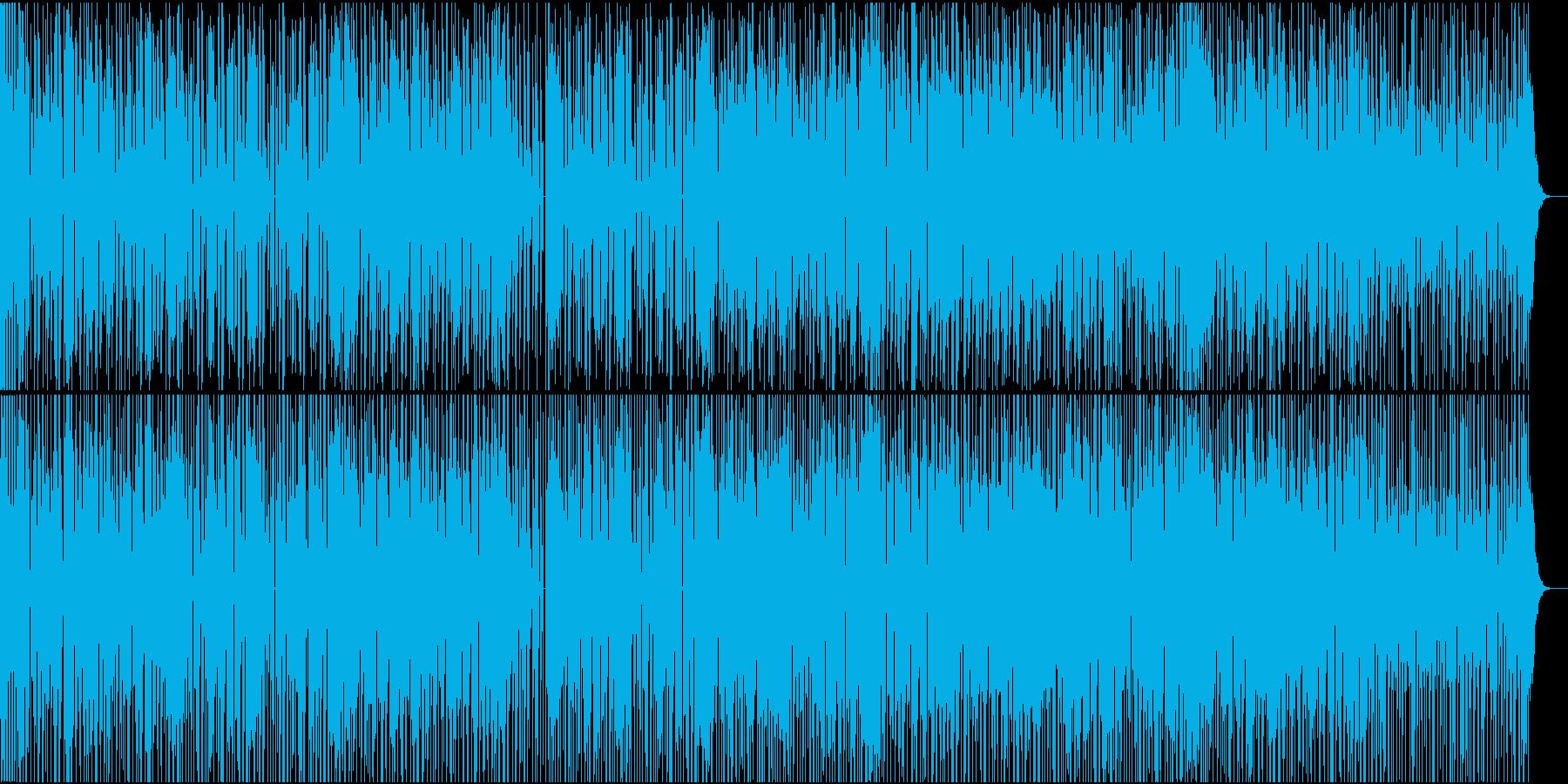 ピアノの刻みが軽快なディスコチューンの再生済みの波形