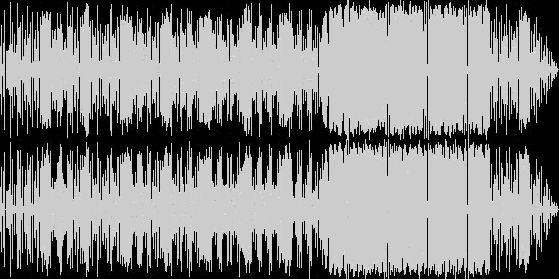 洗練されたパズル_タイムアタックの未再生の波形