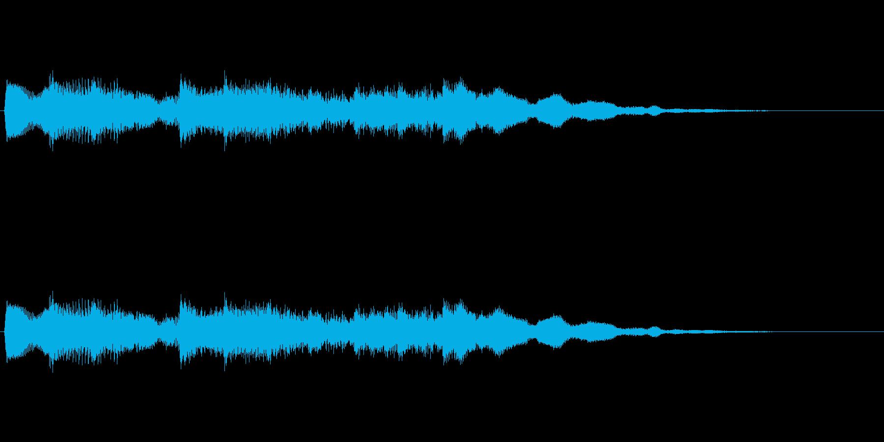 キラリンキラリンキラリーン☆クリスタル音の再生済みの波形