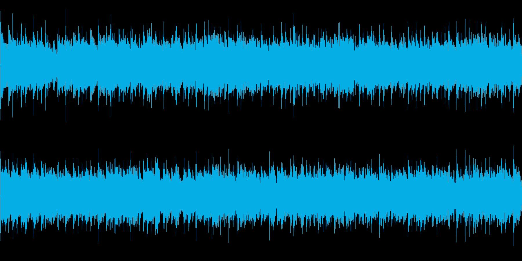 美しいアコースティックギター016の再生済みの波形