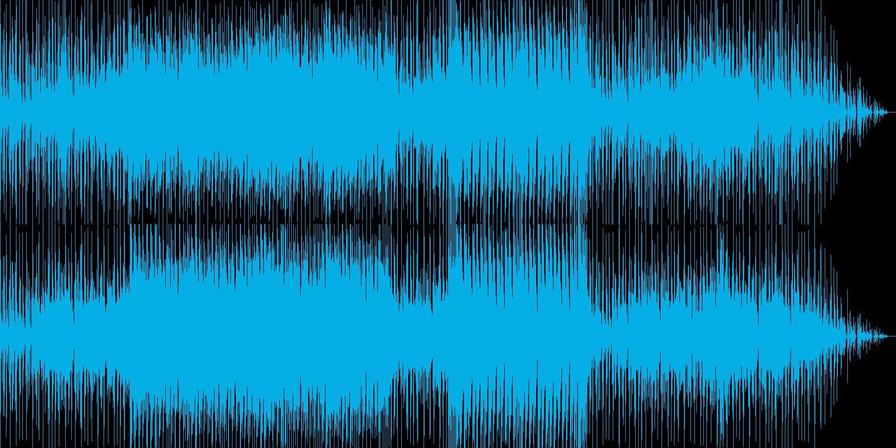どことなくユーモラスなヒップホップ曲の再生済みの波形