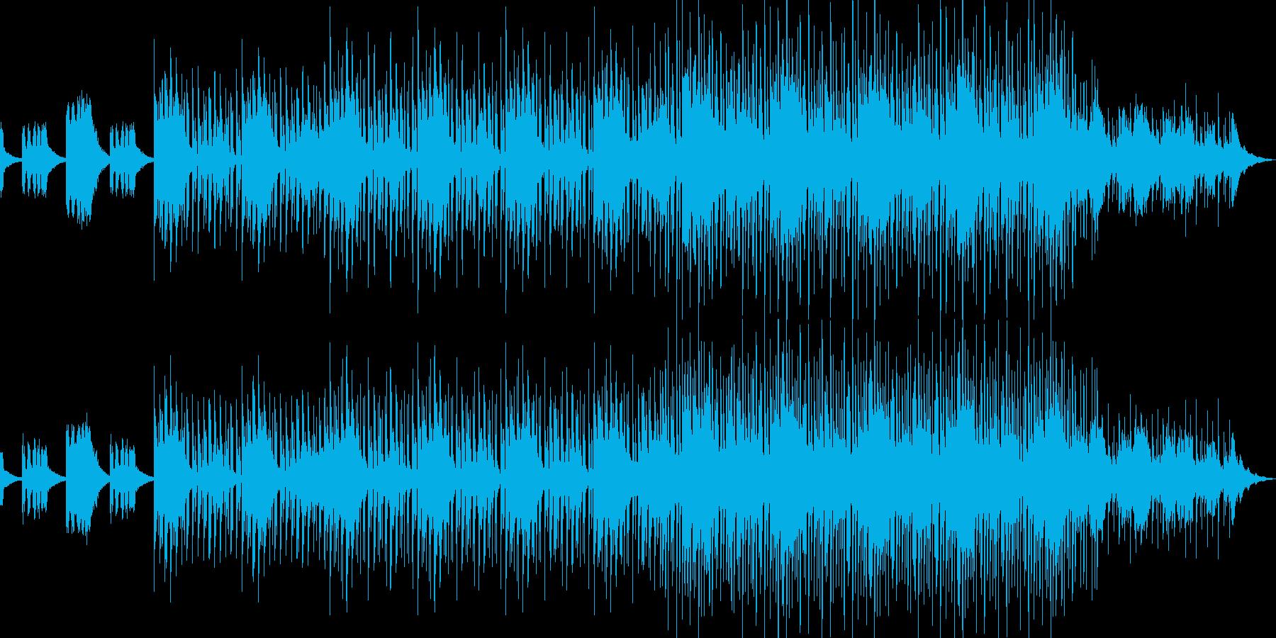 オシャレなクラブサウンドの再生済みの波形