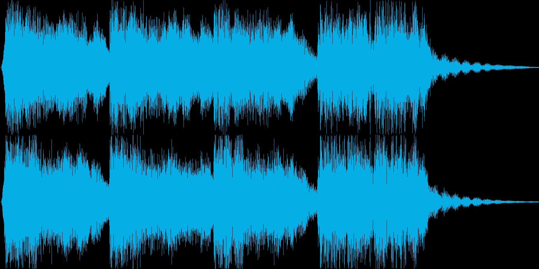 ジングル 疾走感 勢いの再生済みの波形