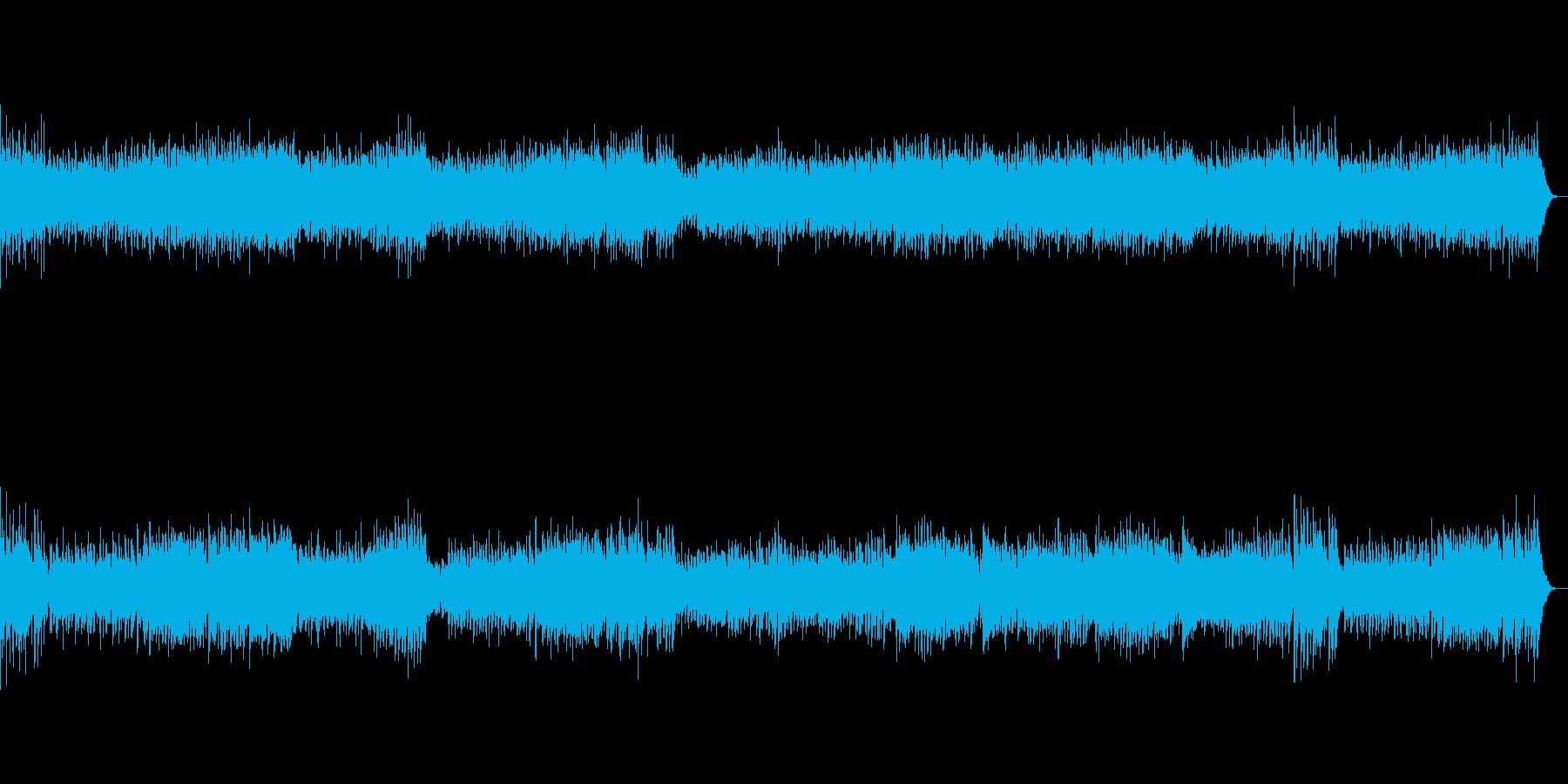 ラデツキー行進曲の再生済みの波形