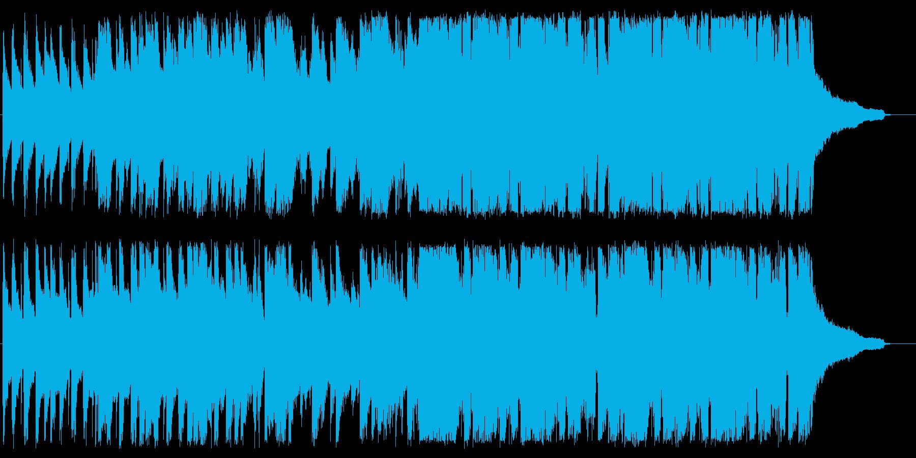 懐かしさ漂うノリノリジャズの再生済みの波形