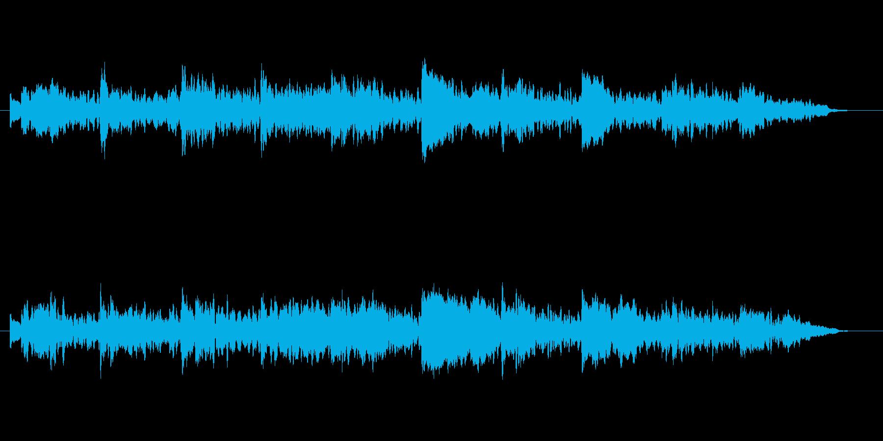 ふしぎ かわいい ふんわり BGMの再生済みの波形