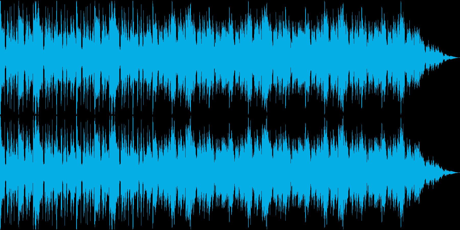 今風のおしゃれなjazz Hiphopの再生済みの波形