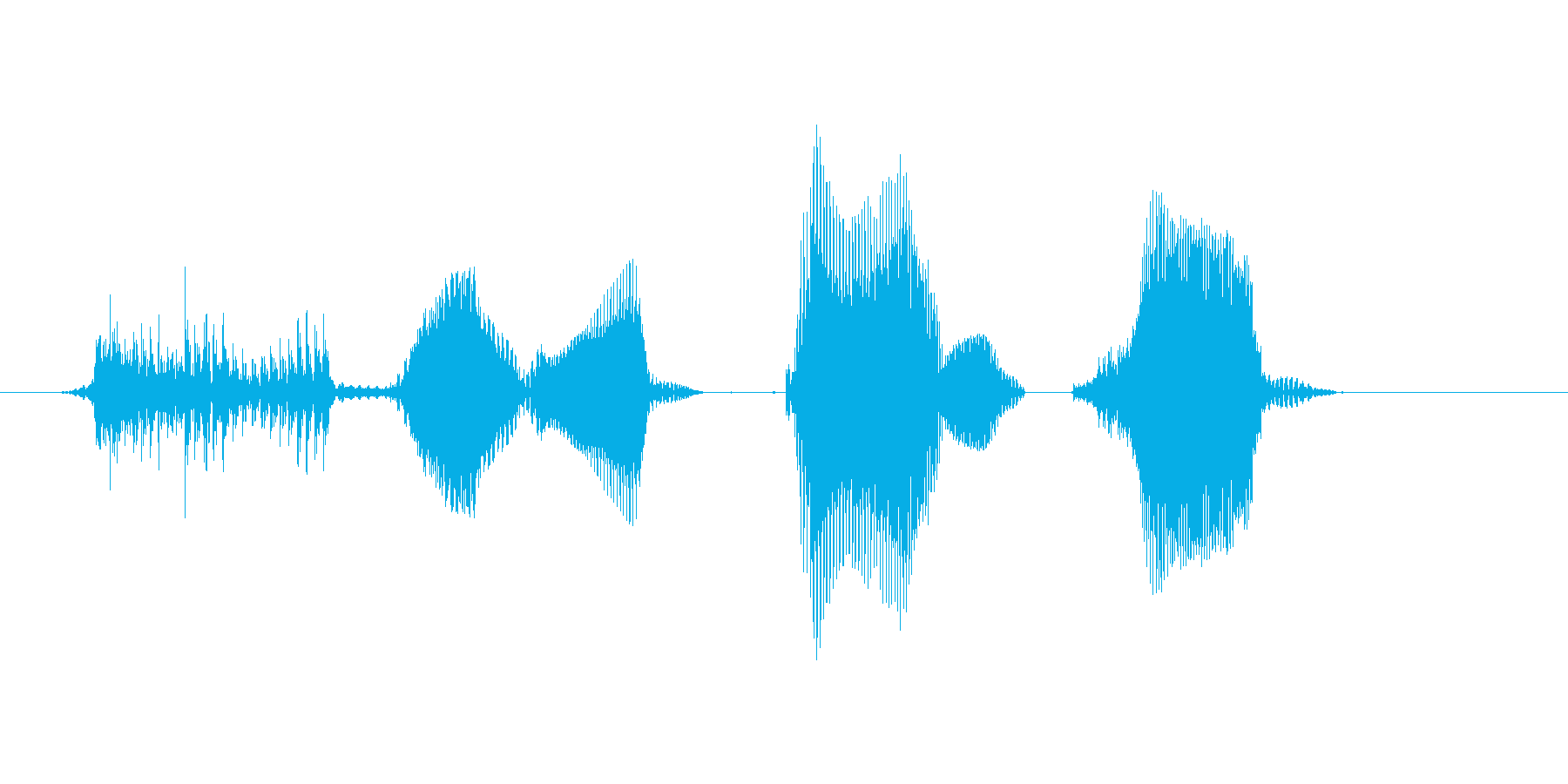 ダブルパンチ!の再生済みの波形