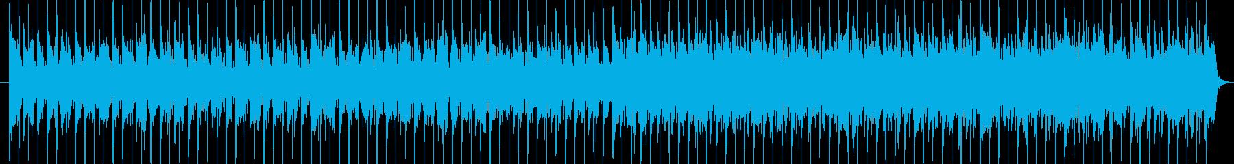 ほのぼのしたカントリーの再生済みの波形