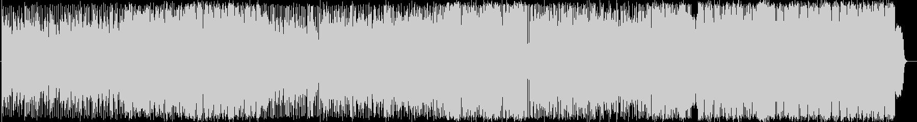 切ないロックバラード曲の未再生の波形