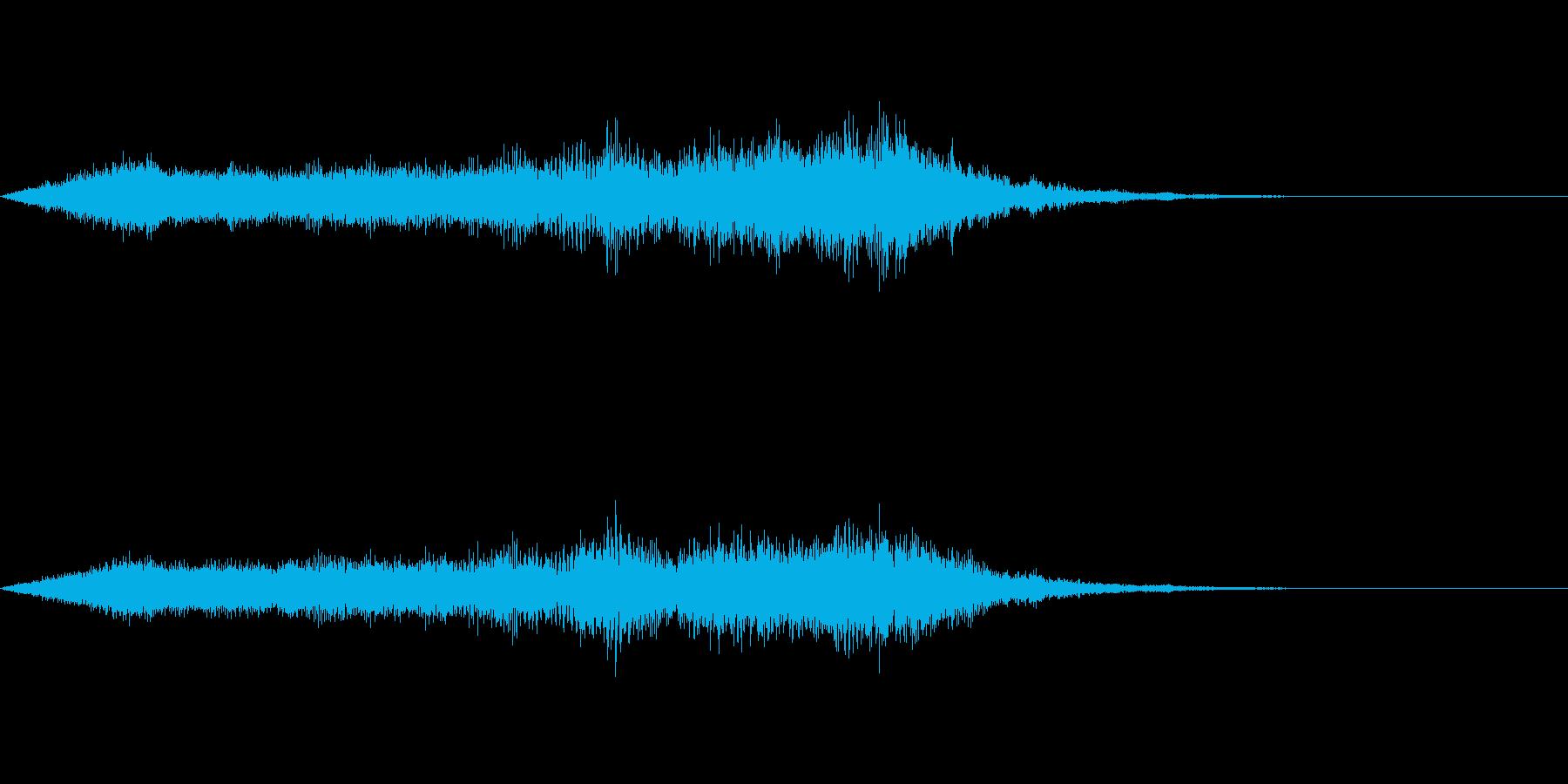 スペイシーな空間音 Cメジャーの再生済みの波形