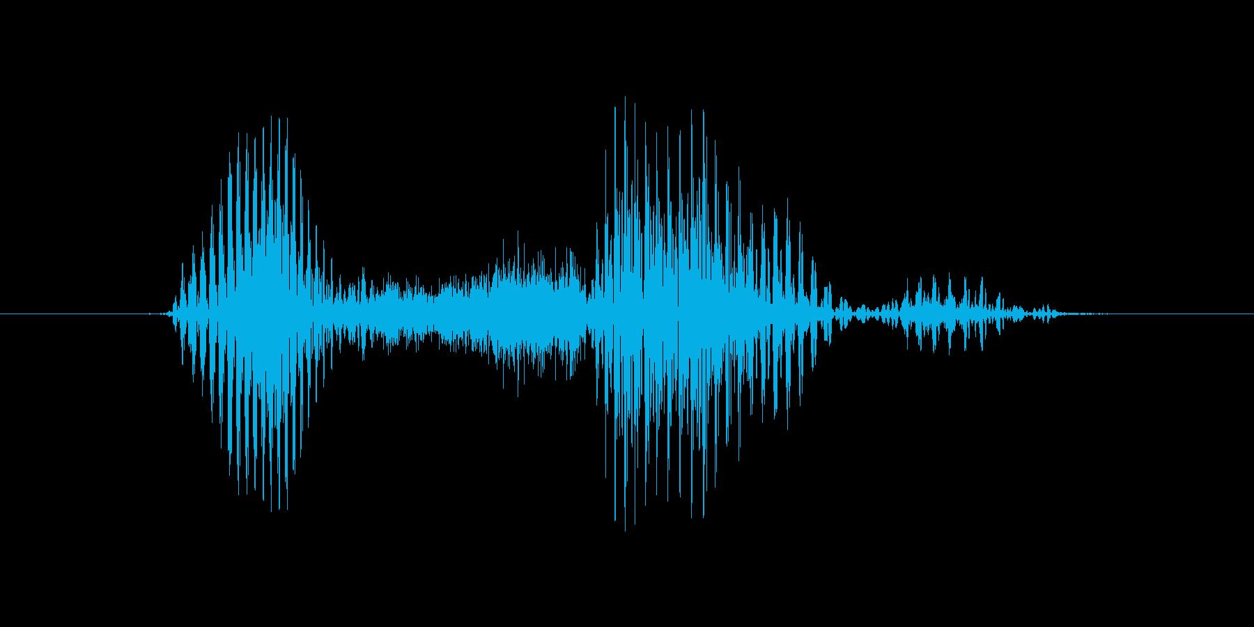 オフサイドの再生済みの波形