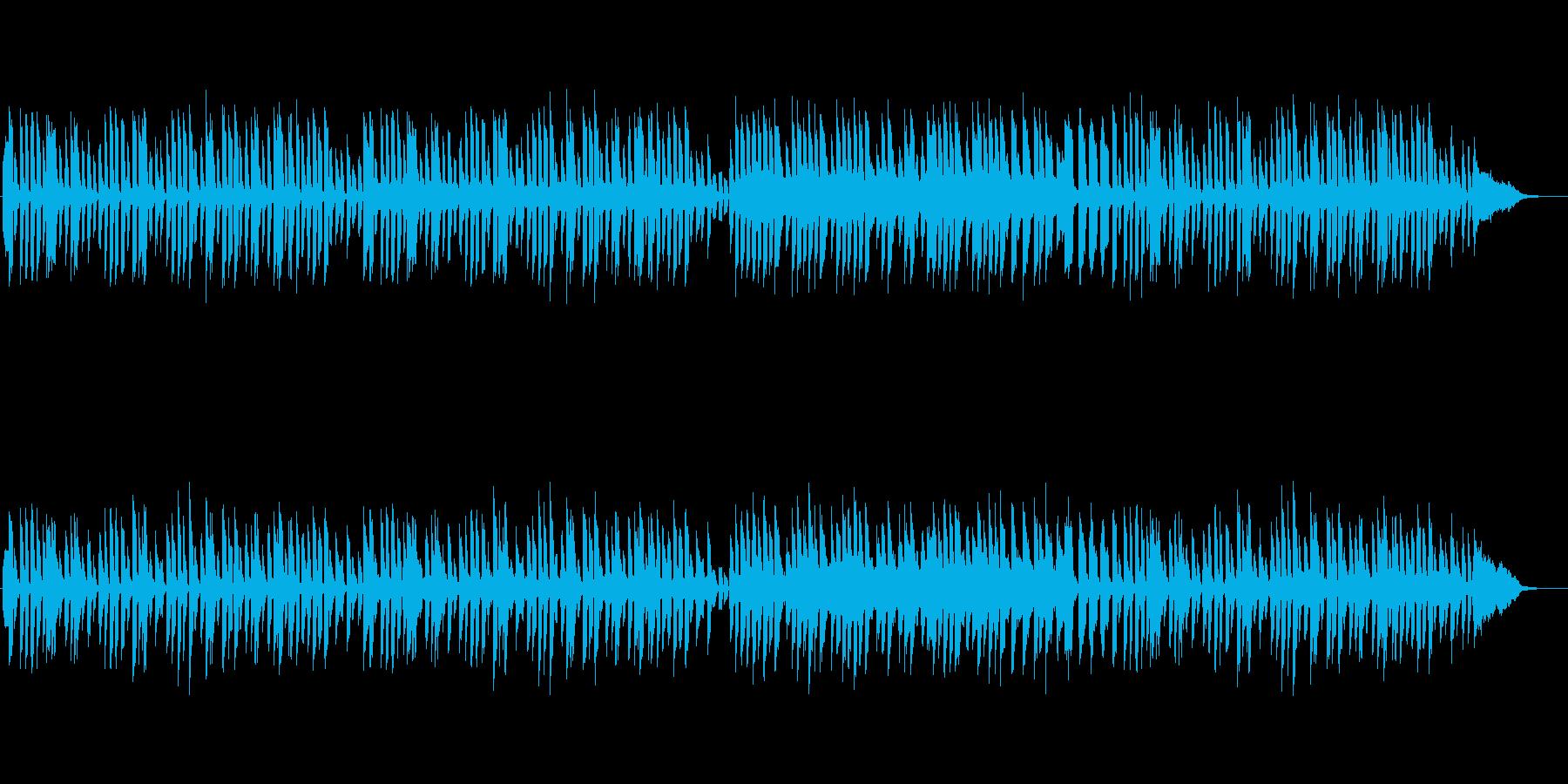 癒し系ギター:ほのぼのの再生済みの波形