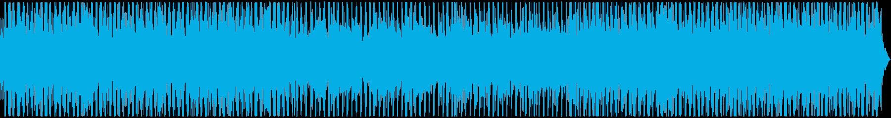 シンプル&クール 浮遊感のあるBGMの再生済みの波形