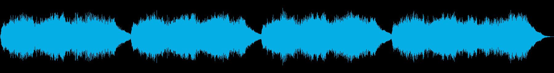 テーマ「目覚めた朝」30秒BGMの再生済みの波形