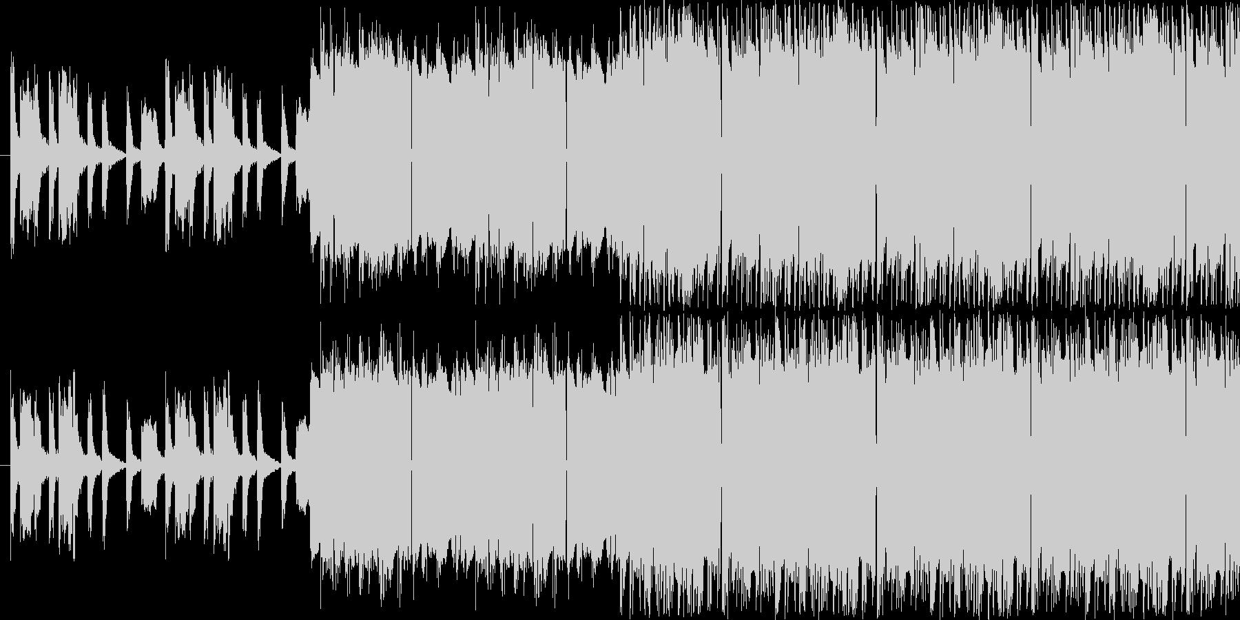 【オーソドックスなシンセポップス】の未再生の波形
