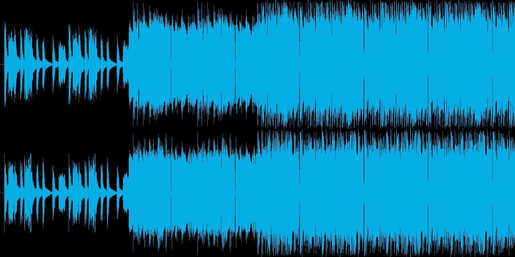 【オーソドックスなシンセポップス】の再生済みの波形