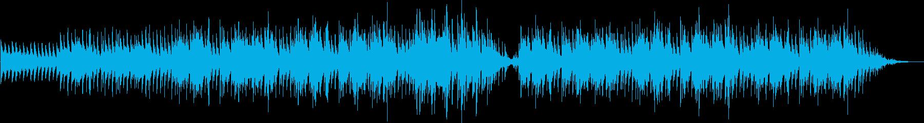 切ない回想シーン、透き通ったピアノメロの再生済みの波形