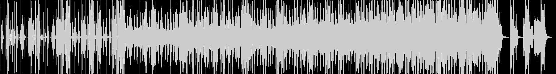 ベースのフレーズでちょっとサスペンスの未再生の波形