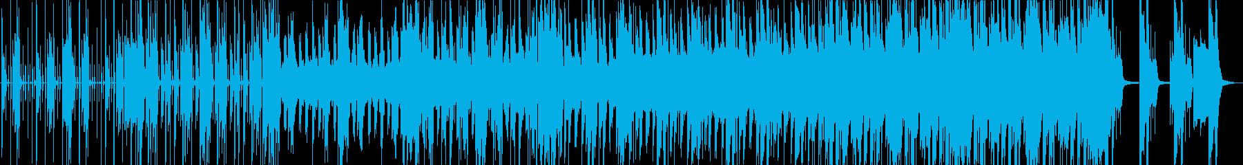 ベースのフレーズでちょっとサスペンスの再生済みの波形