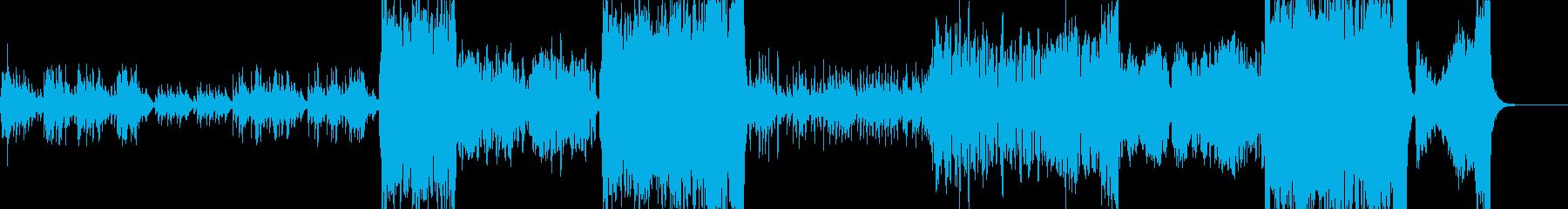 メルヘンでアニマルチックなワルツの再生済みの波形