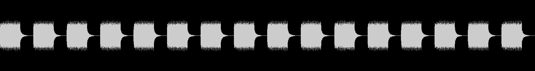 トゥルルルルル の未再生の波形