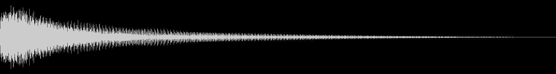 FM音源(ガーン、ギャーン)の未再生の波形