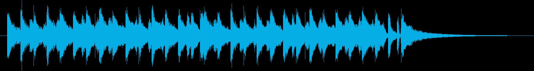冬にピッタリなコーポレート系ジングルの再生済みの波形