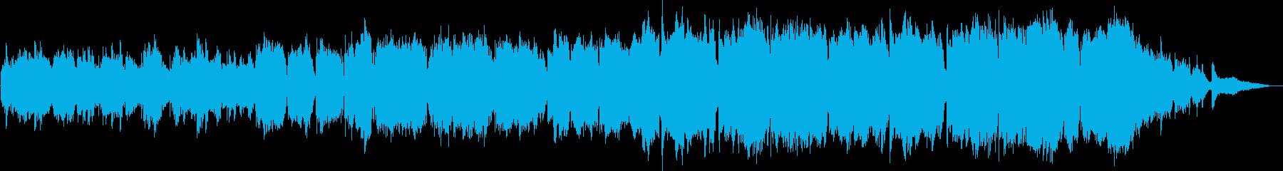 感動的なトランペットバラードの再生済みの波形