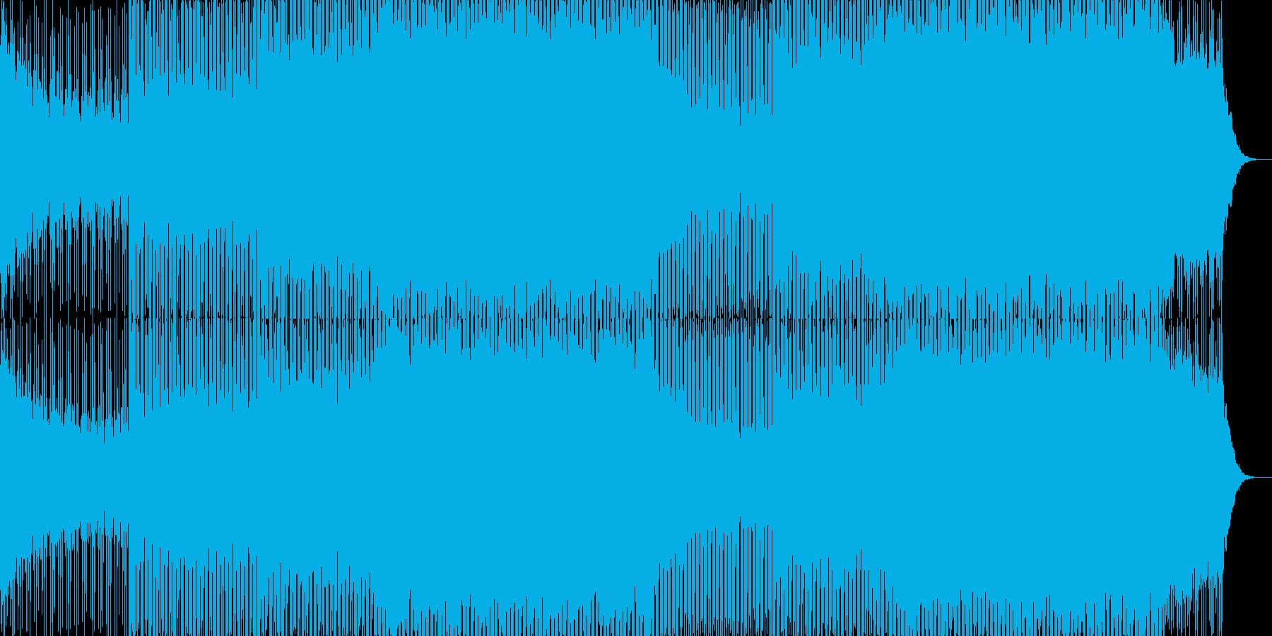 EDMクラブ系ダンスミュージック-102の再生済みの波形